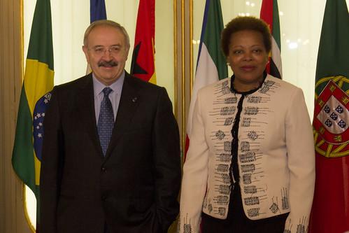 Secretária Executiva reúne com Presidente do Conselho da Cultura Galega
