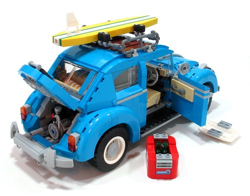 Lego flat four Beetle engine