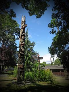 Gwiskunas' Haida Totem Pole