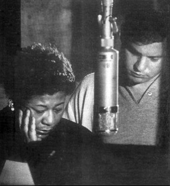 Ella Fitzgerald with Buddy Bregman