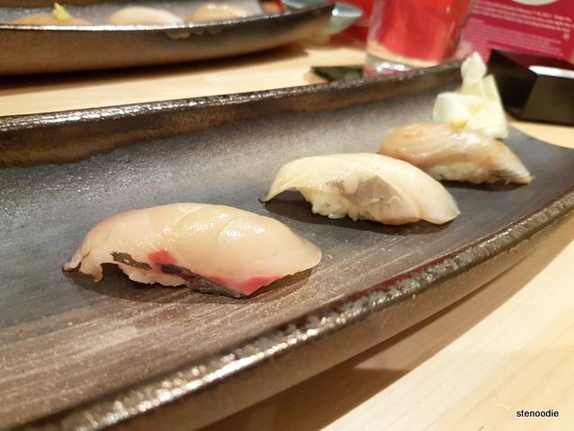 Shoushin omakase sushi