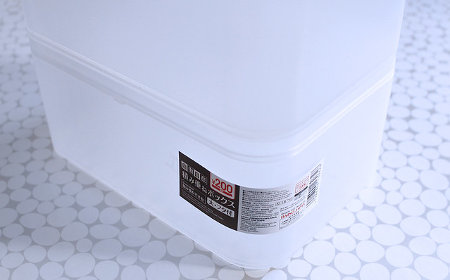 蓋付 フタ付 ダイソー 積み重ねボックス 無印 メイクボックス