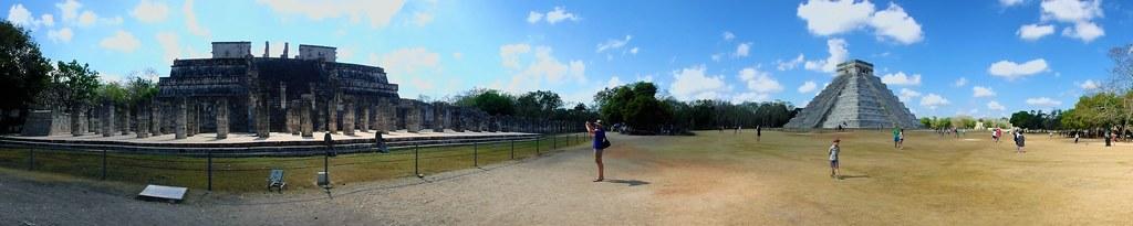 P3110203 Pano Chichen Itza Yucatan México Patrimonio de la Humanidad UNESCO