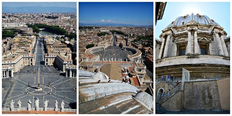 Como é subir na cúpula da Basílica de São Pedro