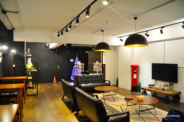 Common Area at We Come Hostel Taipei