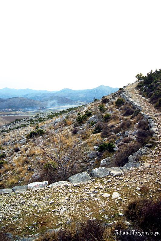 Дорога к крепости