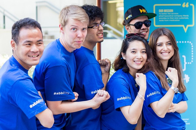 team photo merck
