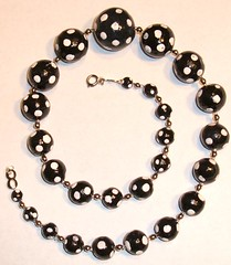 Polka Dot Necklace | by Handmade Stuffs