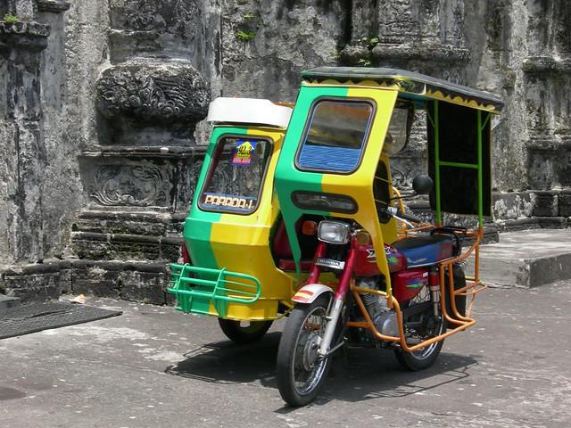 Motorbike taxi, Legaspi | Bicol, Luzon, Philippines | Flickr