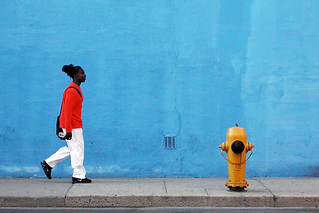 blue wall | by Kevin Steele