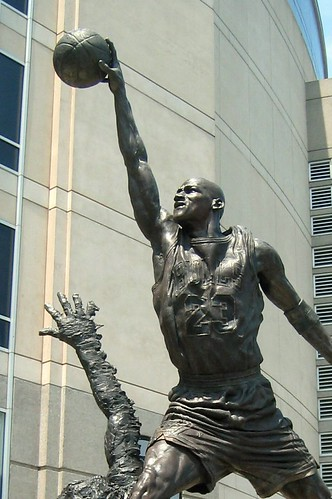 Chicago: United Center - Michael Jordan Statue | by wallyg