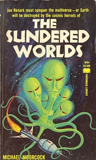 Michael Moorcock - The Sundered Worlds (Paperback Library 52-368) | by vintagepaperbacks