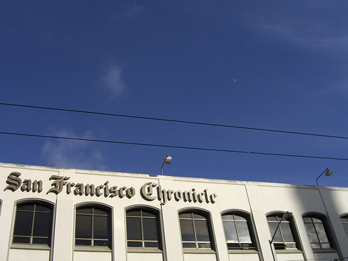 San Francisco Chronicle building | by monsieur paradis