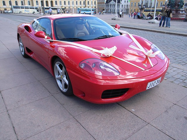 Ferrari Wedding Car Hire Ireland