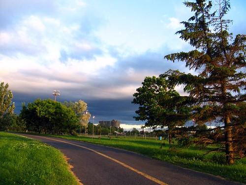 Parc de la Voie Maritime, Saint-Lambert, Québec. | This is
