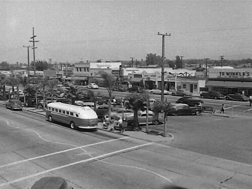 1954 Costa Mesa downtown   Near 19th and Newport in Costa ...