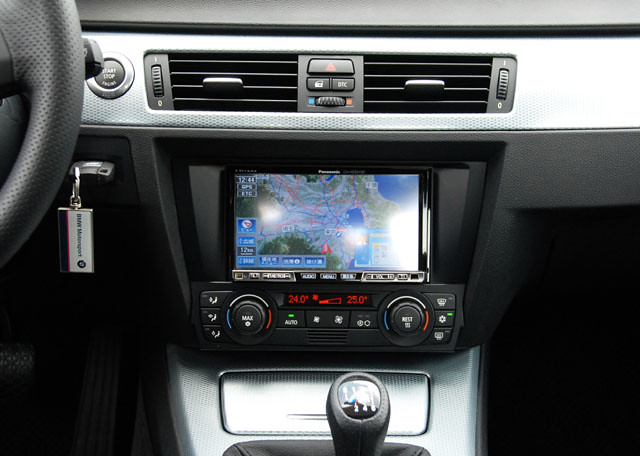 2006 bmw 320si e90 2din panasonic navigation system. Black Bedroom Furniture Sets. Home Design Ideas