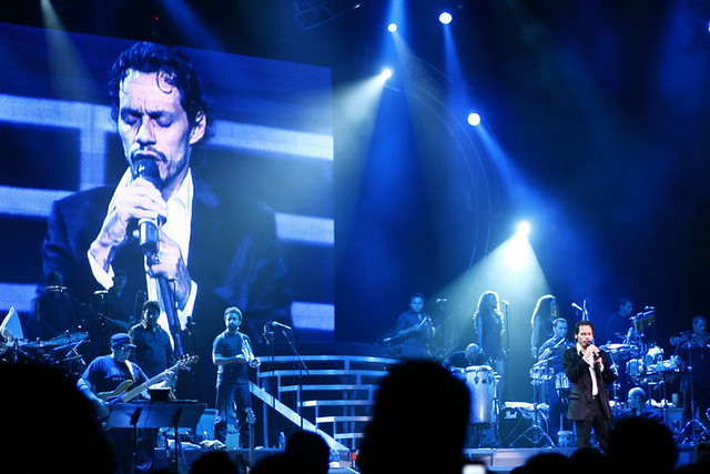 Marc Anthony Concert In Long Island