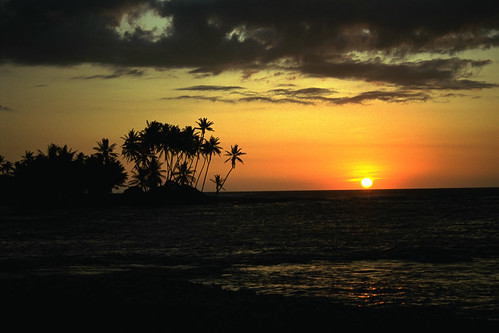 Hawaii Sunset - Kona, HI - 1993 | by ConceptJunkie