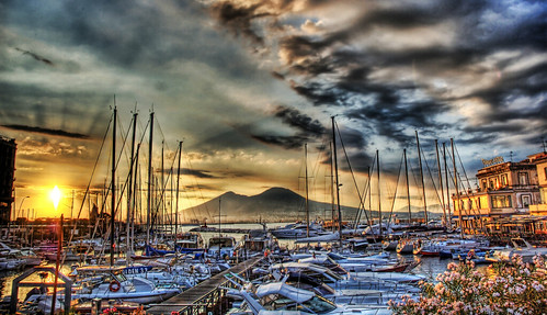 Sunrise in the Naples Docks | by Stuck in Customs
