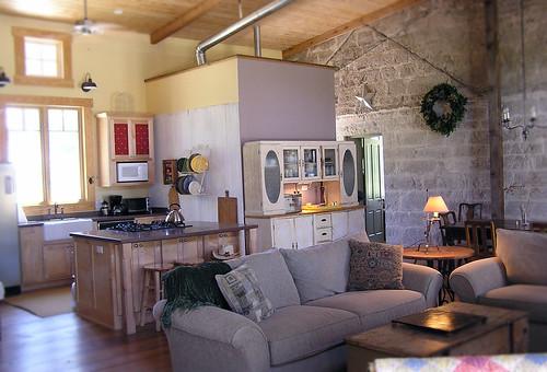 The Flag Creek Inn Living Room Kitchen There Always Seem Flickr