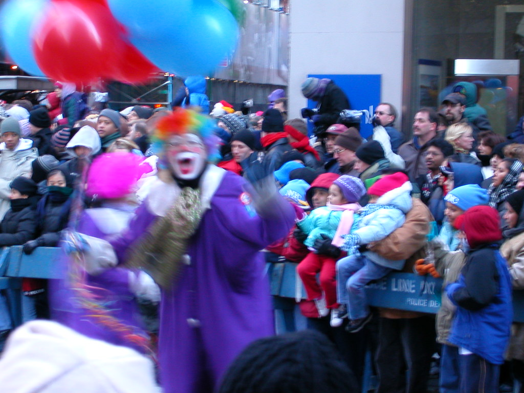 A thanksgiving parade 2002 @New York