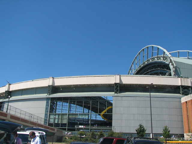 Miller Park Milwaukee Wisconsin Miller Park Home Of The