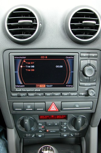 audi a3 ipod display in navigation system thorleif wiik flickr. Black Bedroom Furniture Sets. Home Design Ideas