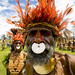 Papua New Guinea nose ring - Mount Hagen