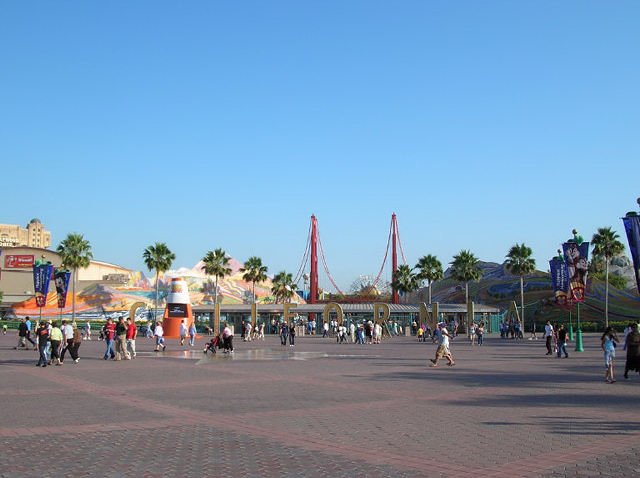 Disney's California Adventure | I tried to take a picture of ...