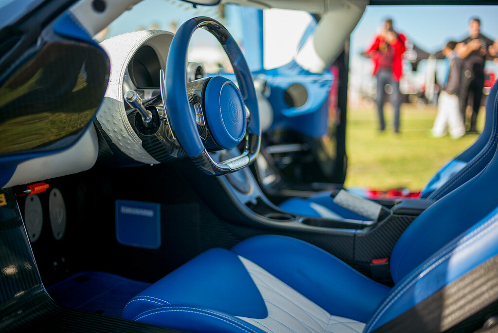 ... Koenigsegg Agera R, Interior Driveru0027s Side | By David A. Barnes