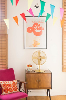 Midcentury 60s retro living room decor inspiration | by I Want You To Know UK Fashion Blog