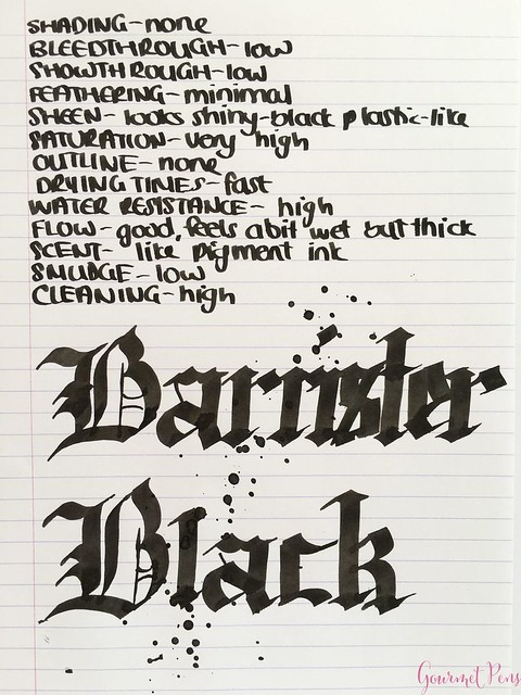 Ink Shot Review Blackstone Barrister Black @AppelboomLaren 6