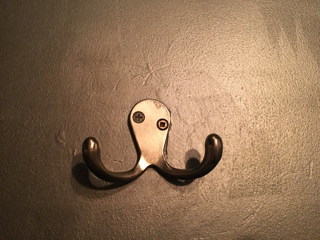 drunken octopus wants to fight you coat hanger in the toi flickr