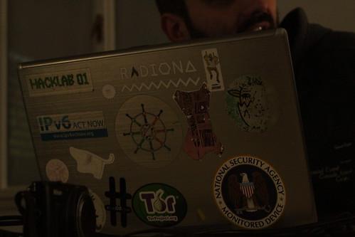 hacklab01 - CryptoParty, photos: FC