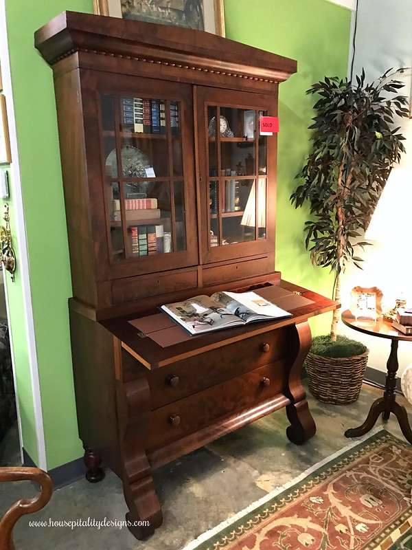 Antique Empire Secretary-Housepitality Designs