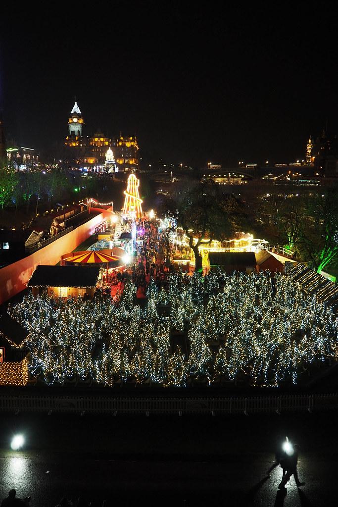 ediburgh christmas market