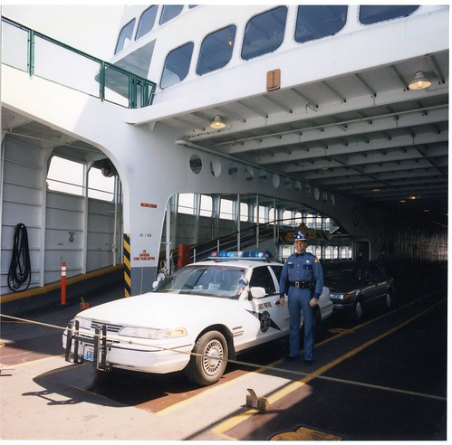 May 1995 on the M/V Hyak