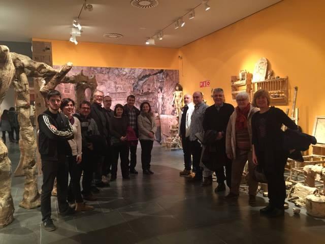 20170204 MESSA, Palpitacions i Art Gandul. Visita guiada