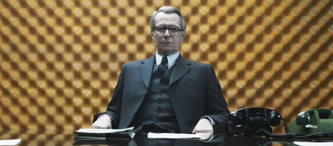 Gary Oldman mint George Smiley a 2011-es Suszter, szabó, baka, kém c. mozifilmben