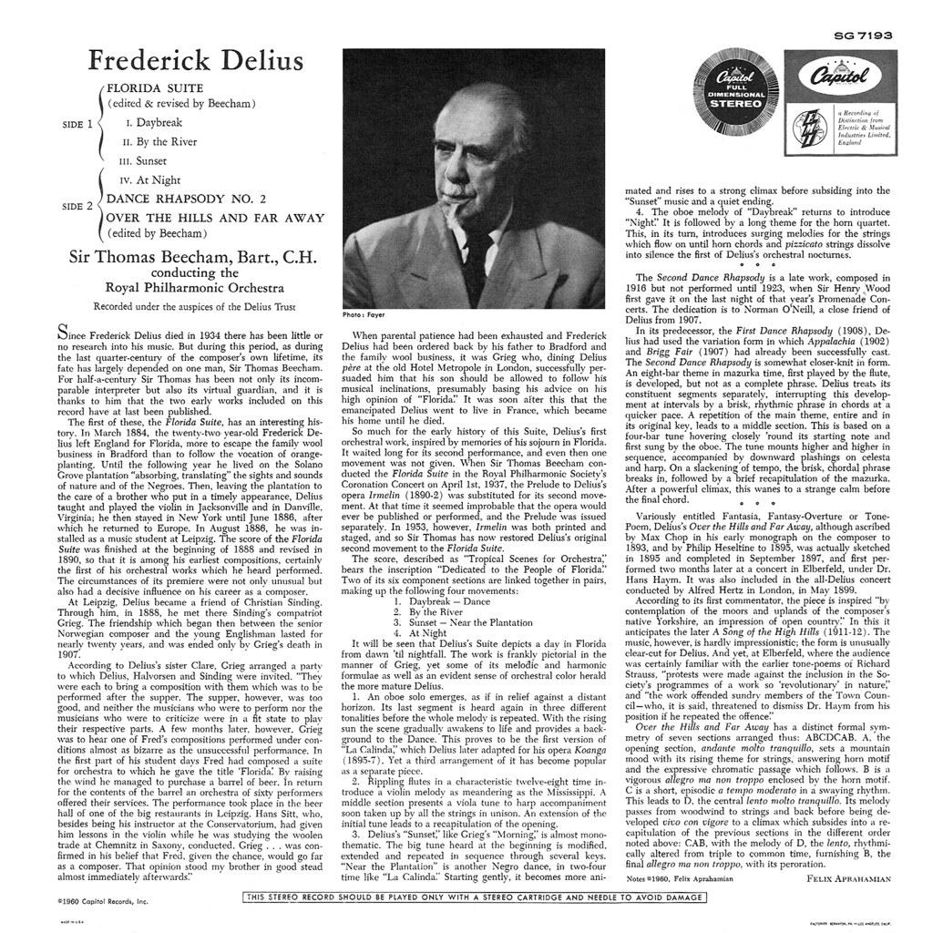Frederick Delius - Florida Suite