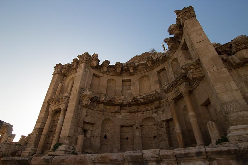 The Jerash nymphaeum.