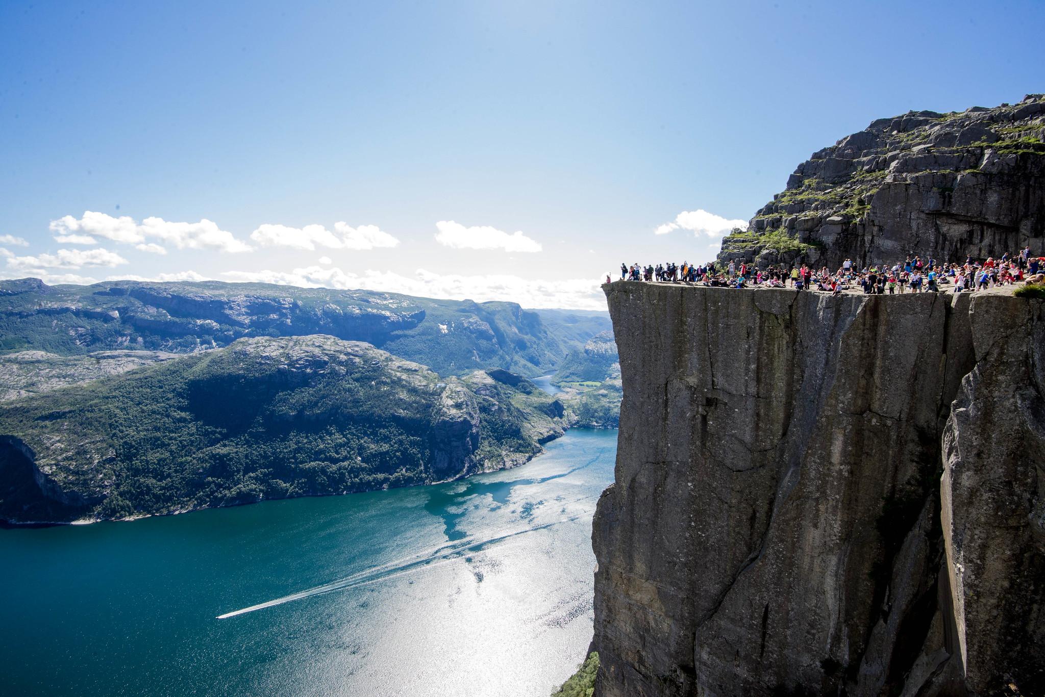 Preikestolen (Pulpit Rock), Norway