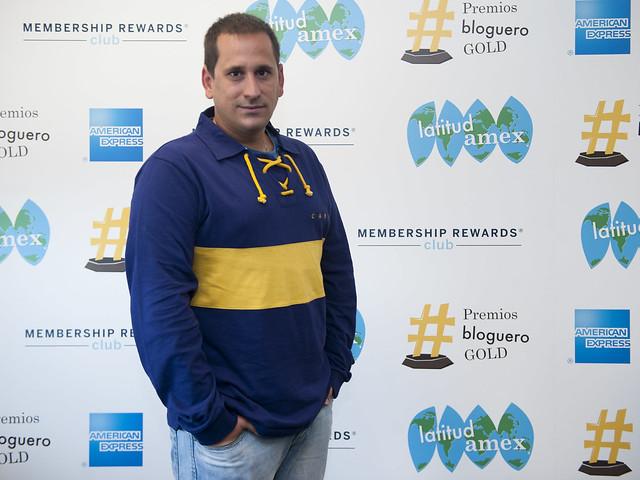 Sele en la presentación de los Premios #BlogueroGold (Latitud AMEX) de American Express