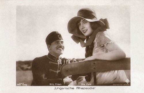 Willy Fritsch and Dita Parlo in Ungarische Rhapsodie
