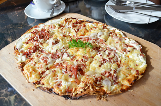 Flammkuchen, Ihringen, Germany