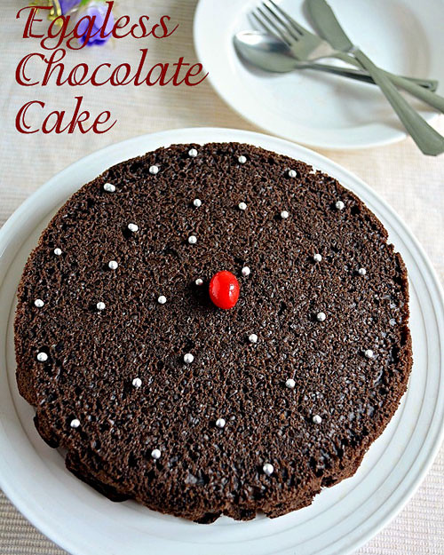 Recipe eggless chocolate cake pressure cooker