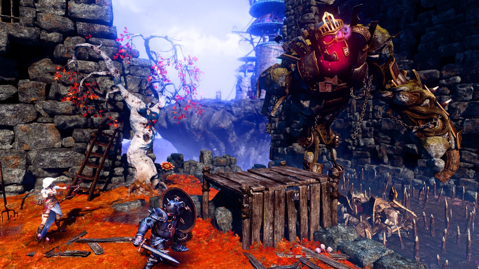Trine 3 : The Artifacts of Power prochainement disponible sur PS4