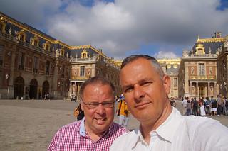 015 Selfie Voorplein Kasteelvan Versailles