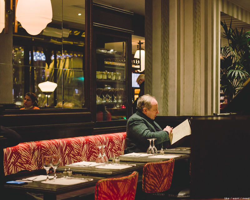 Dinner for One, Le Cepage Montmartrois